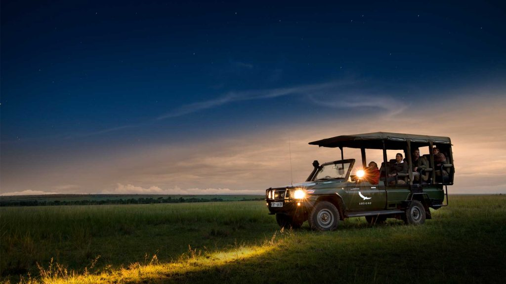 Night Game Drive at Lake Manyara National Park