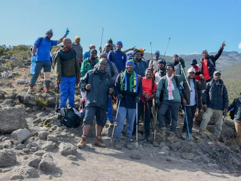 On top of Africa Flightlink conquers Mt. Kilimanjaro